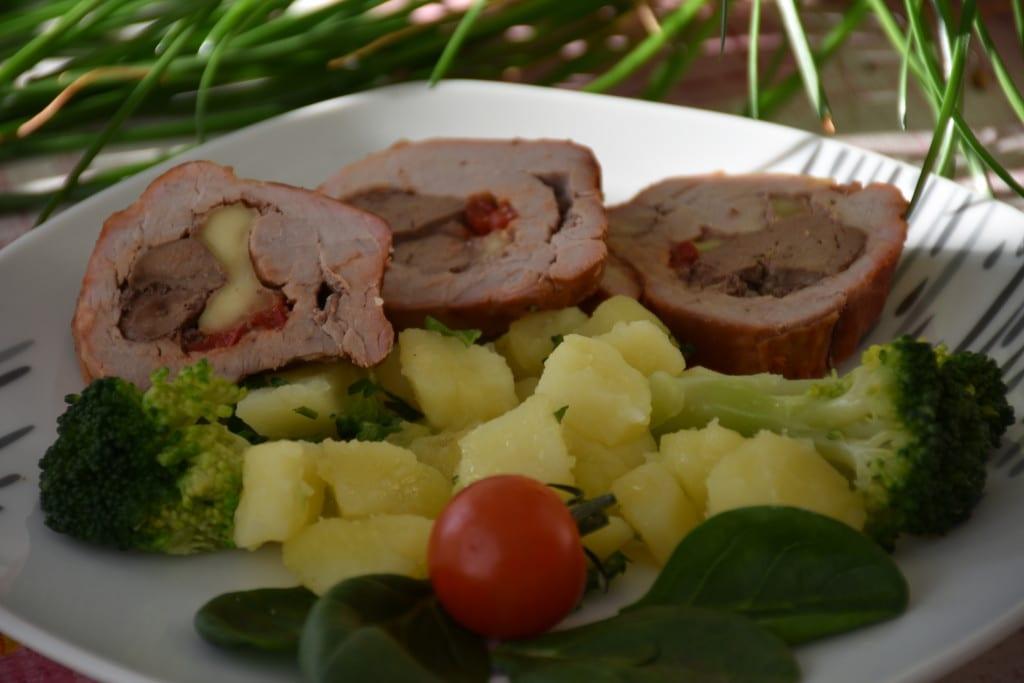 Rulada din muschi de porc-reteta