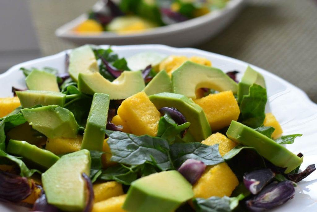 salata din spanac si avocado-reteta