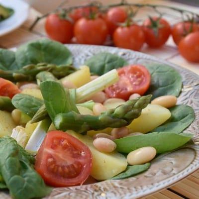 salata cu sparanghel reteta