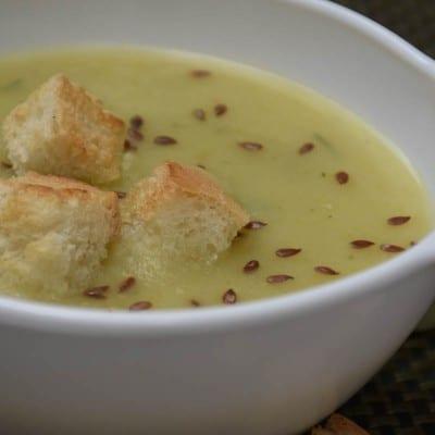 supa crema de dovlecel-reteta