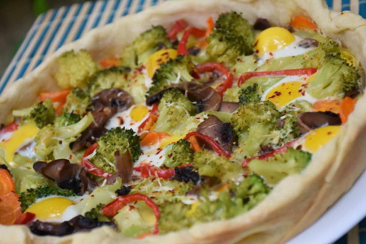 Tarta cu broccoli