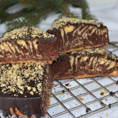 tort cu cacao si vanilie-reteta