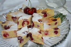 prajitura cu cirese rosii-reteta
