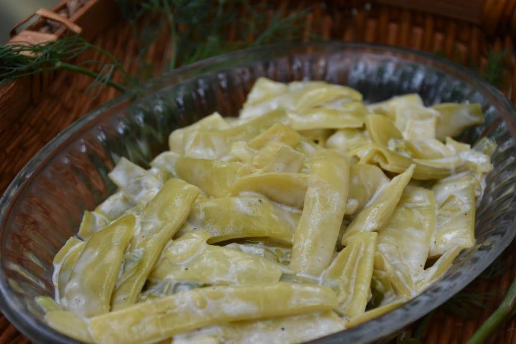salata de fasole pastai cu maioneza-reteta