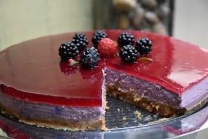 cheesecake cu mure-vezi reteta
