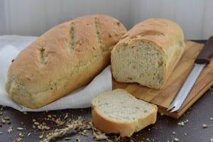 paine cu seminte-reteta