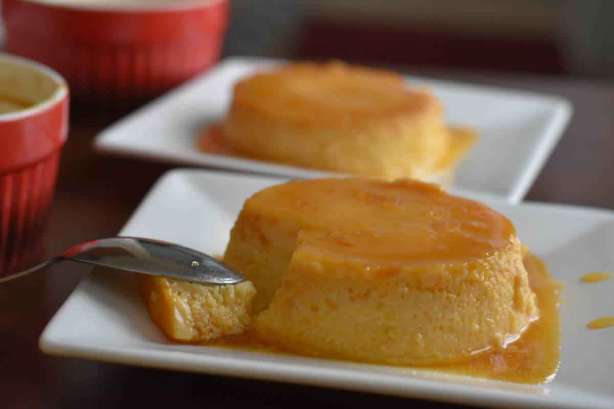 Crema de zahar ars cu suc de portocale