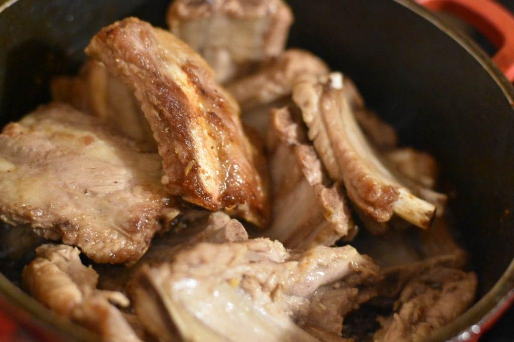 coasta de porc prajita-reteta