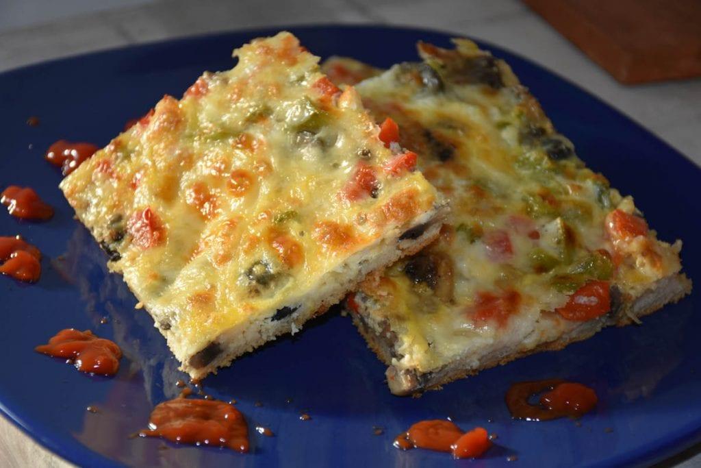 pizza cu legume -reteta