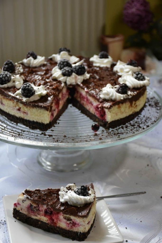 cheesecake cu biscuiti oreo -reteta