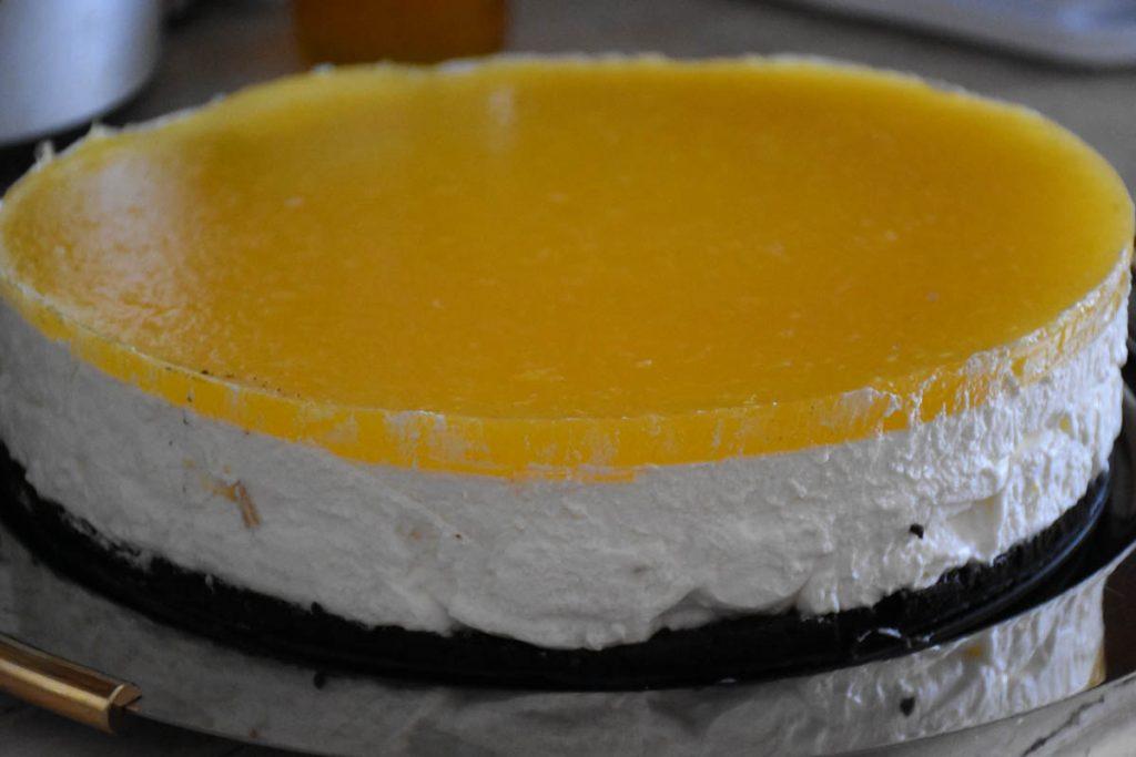 tort cu jeleu de portocale-reteta