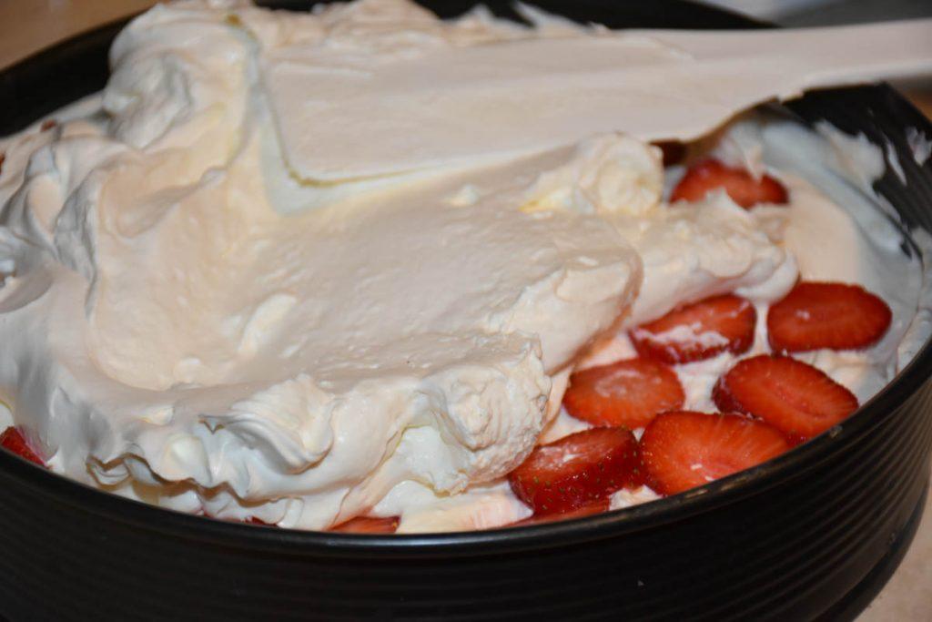 cheesecake fructe -reteta