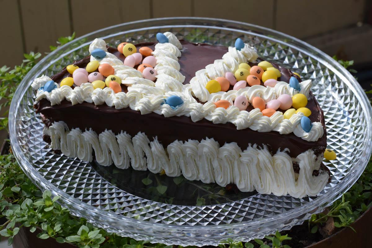 Tort glazurat cu crema mascarpone